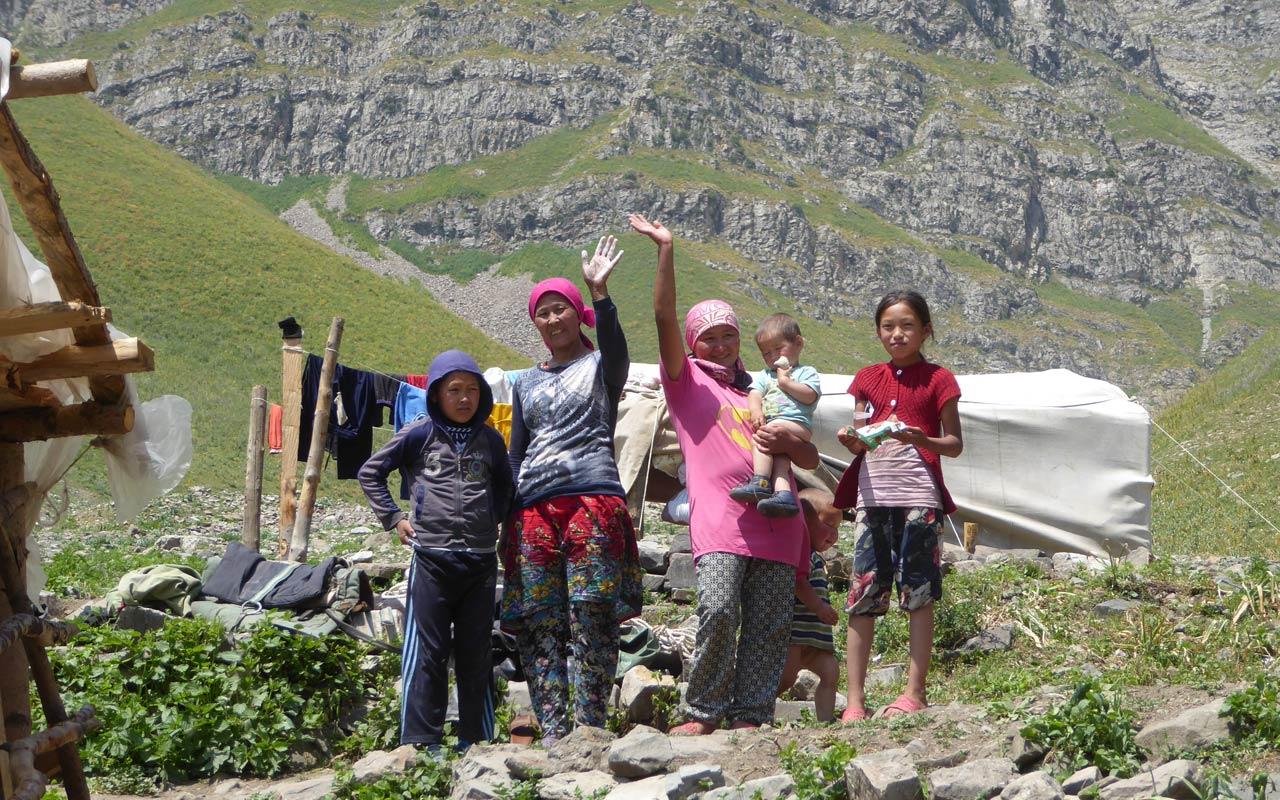 Trekking in Kirgistans wildem Westen