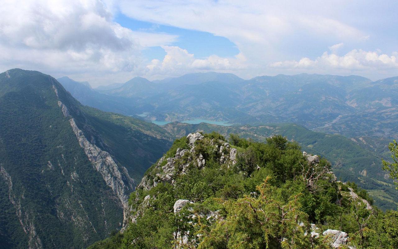 Wandern Albanien Süd