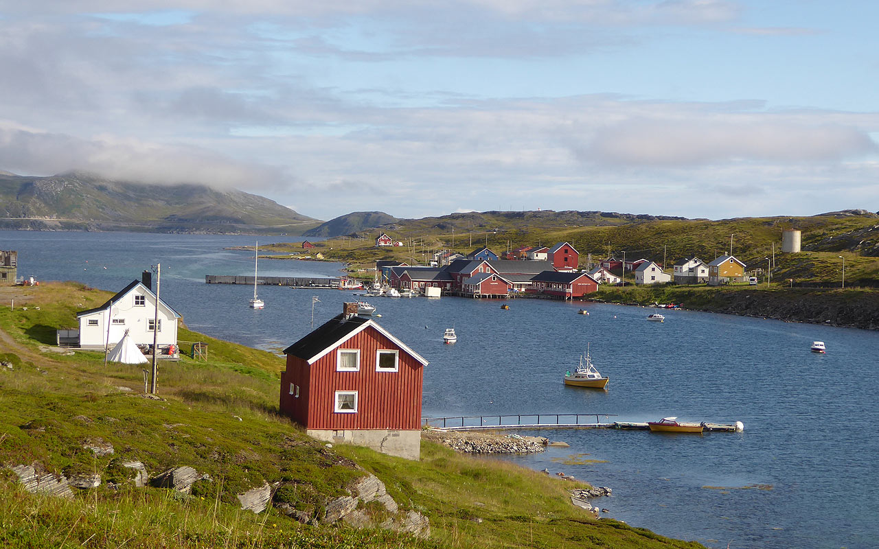 Länderinfo. Finnmark, Norwegen
