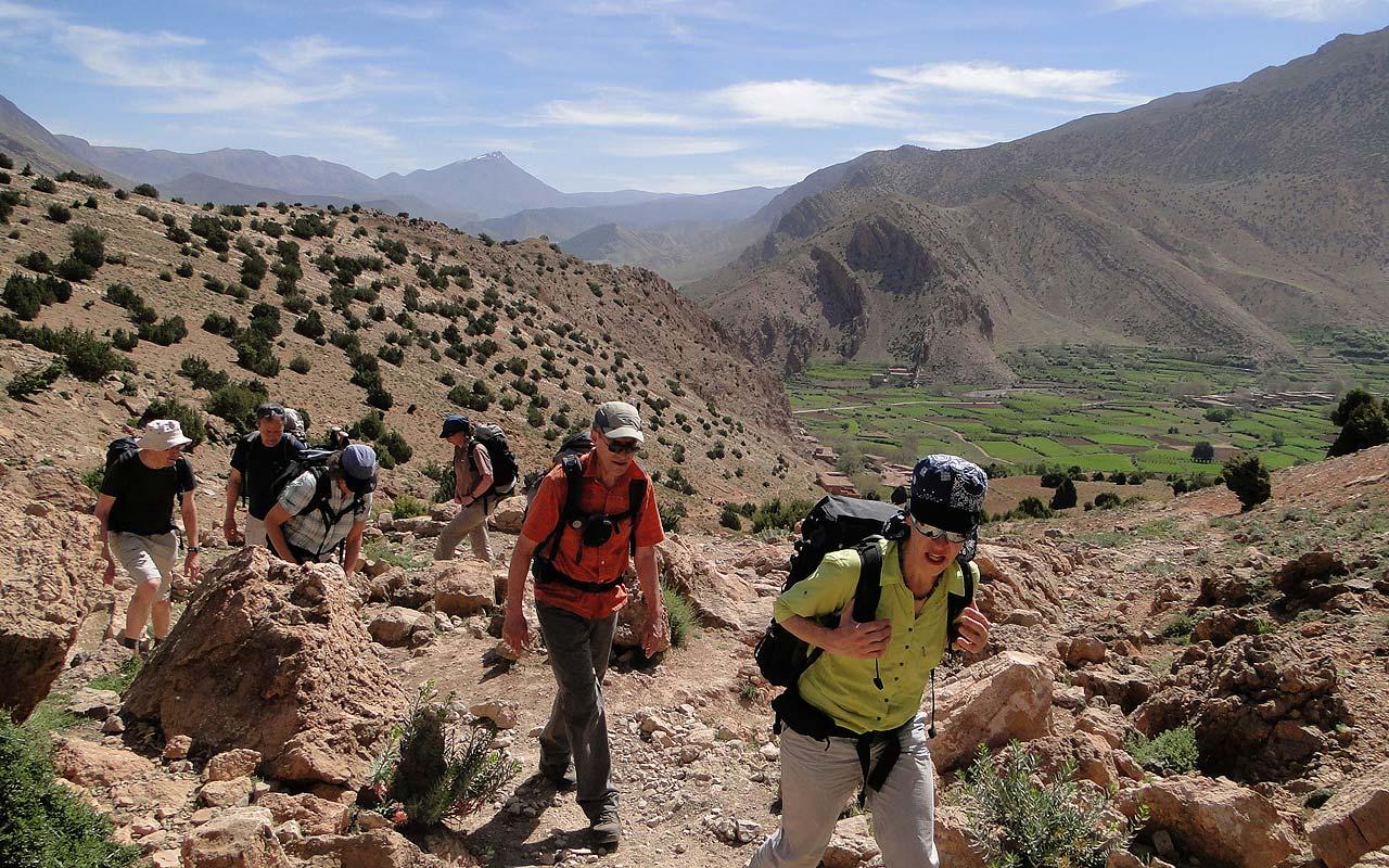 Marokko. Trekking Hoher Atlas