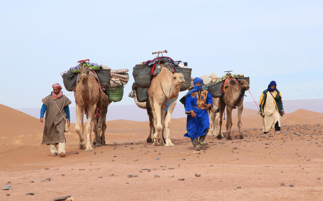 Packliste Ausrüstung Wandern Wüste
