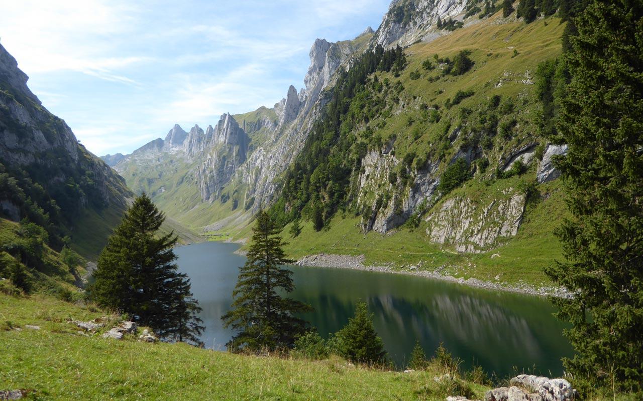 Wandern Schweiz Alpstein Sommer