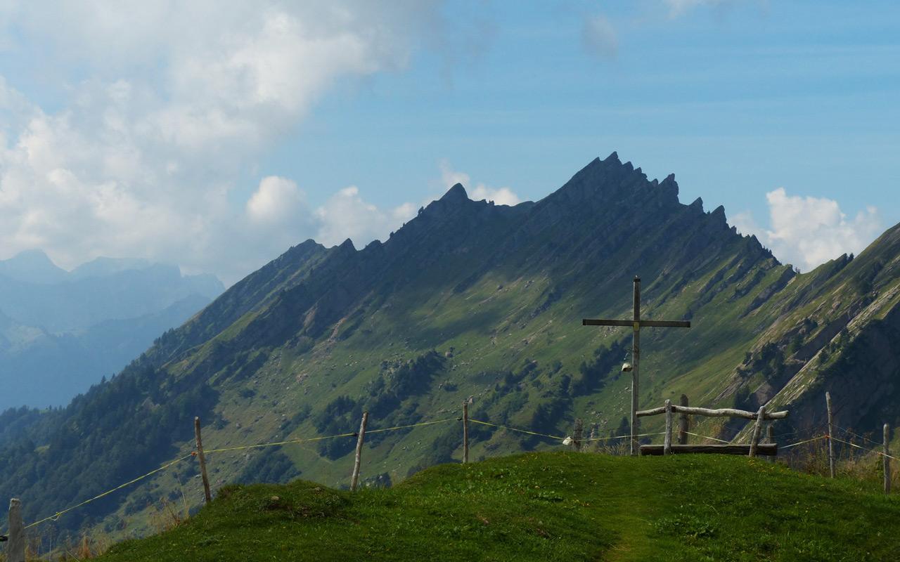Wanderung Amden – Mattstock, Speer