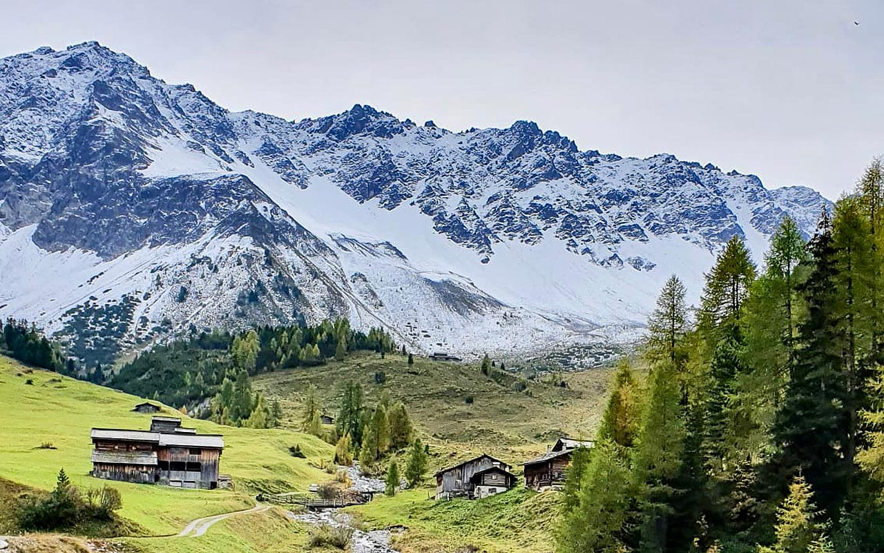 Wandern Bündnerland Davos