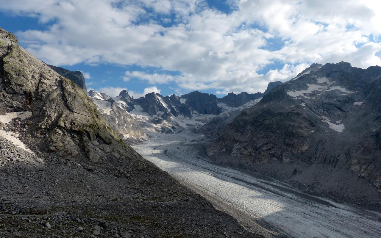 Mehrtage-Wanderung Graubünden Fornogletscher