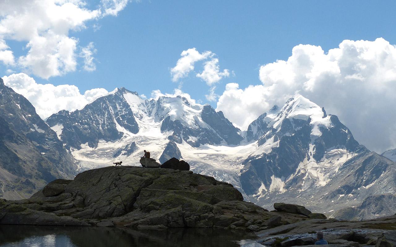 Bernina-Trekking. Rund um die Bernina wandern