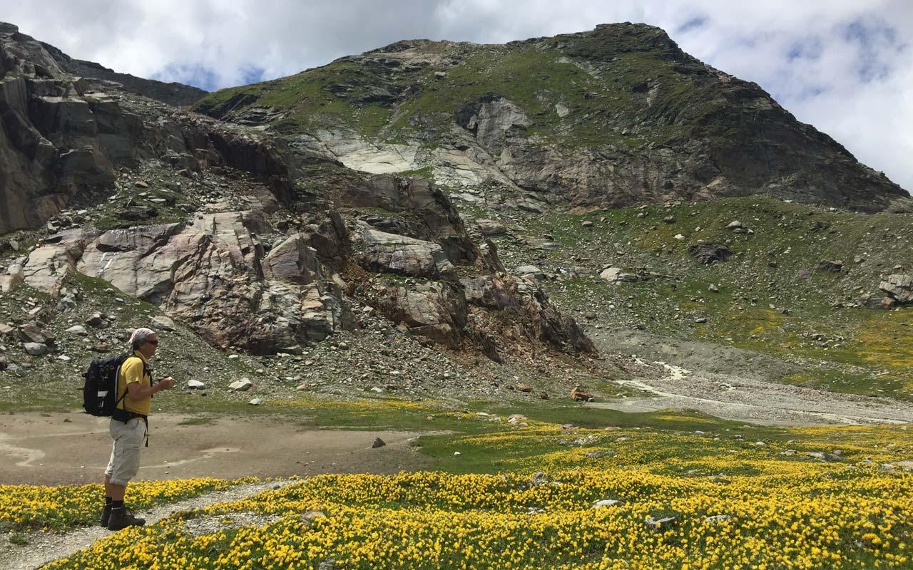 Mehrtage-Wanderung Graubünden.
