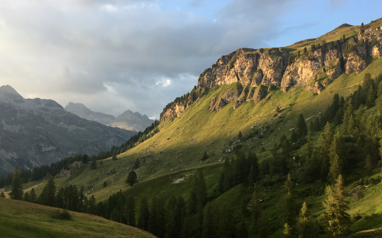 Mehrtage-Wanderung Graubünden. Fextal