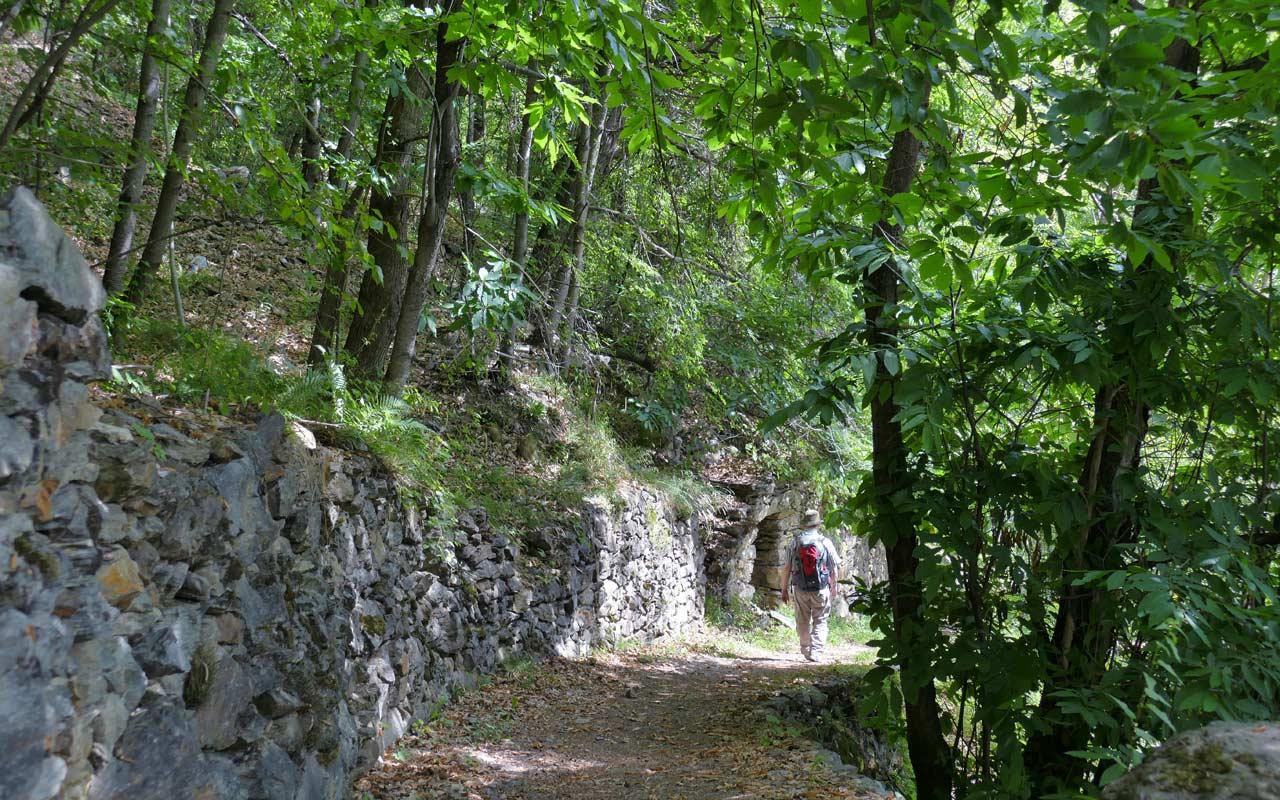 Wandern Puschlav: Bernina - Tirano.