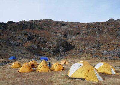 Trekking Nepal Lumbasumba Zeltcamp