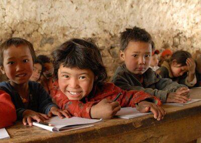 Trekking Nepal Schule Dolpo