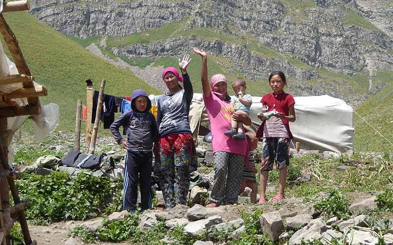 Programm Trekking Kirgistan