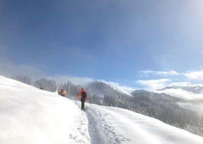 Schneeschuhwandern Schweiz Innerschweiz