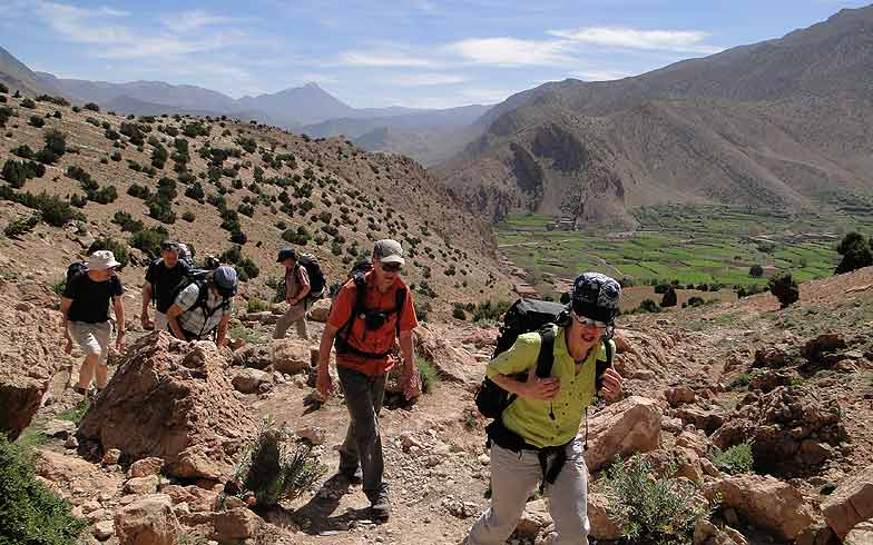 Marokko. Trekking Hoher Atlas, Programm