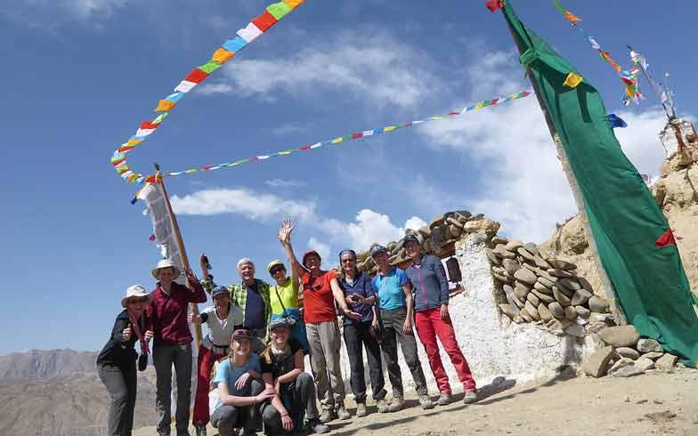 Nepal Zelttrekking. Königreich Mustang