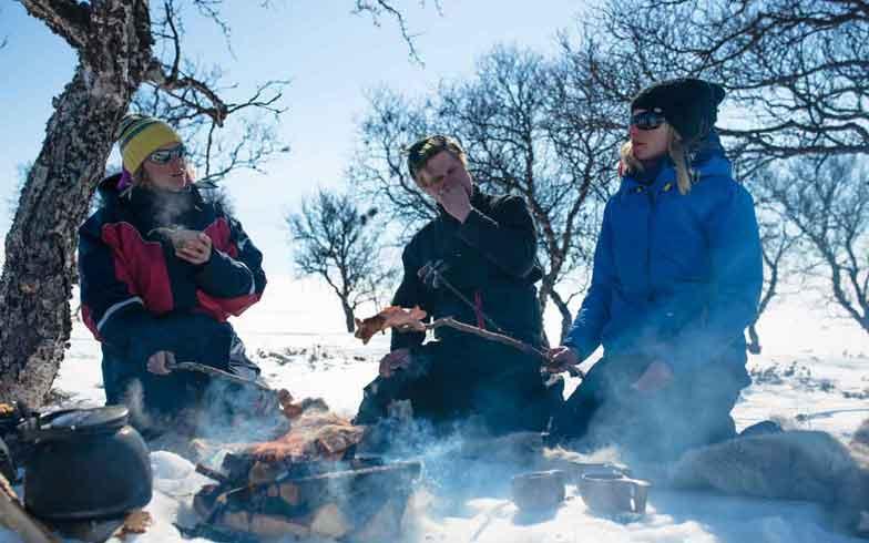 Lappland. Skisafari in der Tundra